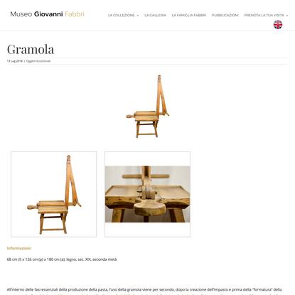 Gramola - Museo Giovanni Fabbri