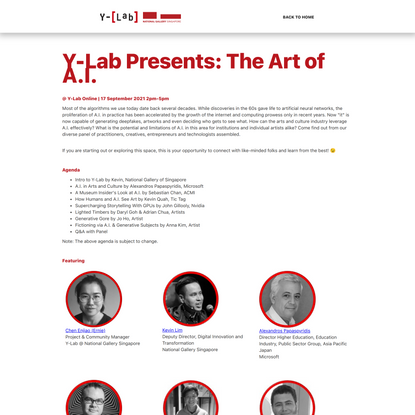 Y-Lab Presents: The Art of A.I.