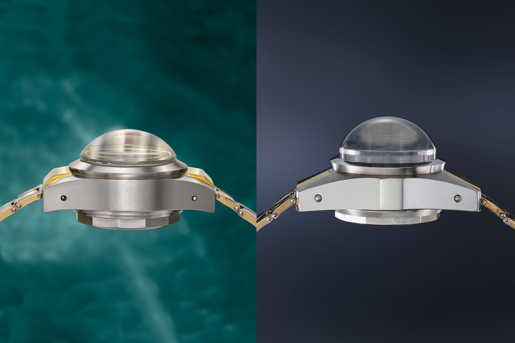 Rolex Deep Sea Specials No. 1 and No. 35 side by side