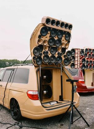 When a Minivan Becomes a Music Machine