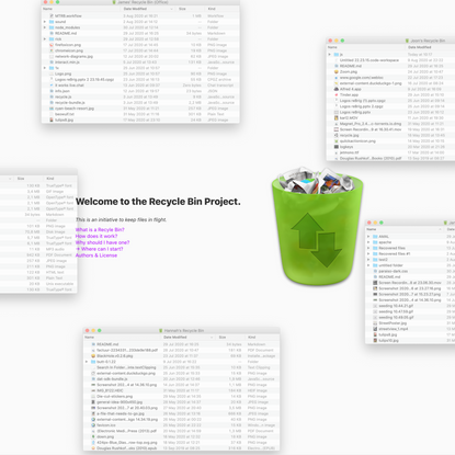 The Recycle Bin Project