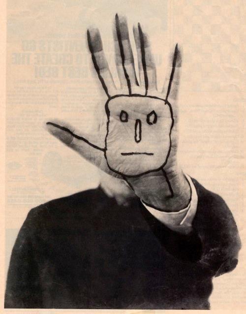Saul Steinberg, Last Self-Portrait