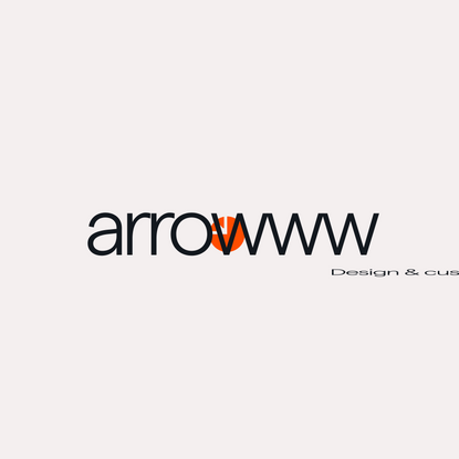arrowww — Design & custom software development