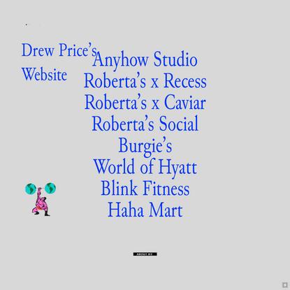 Drew Price's Website