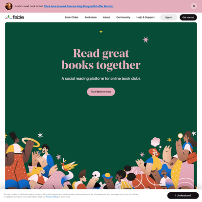 A Modern Day Book Club App for Social Reading | Fable