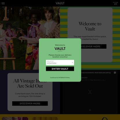 Edition 01 - VAULT Gucci