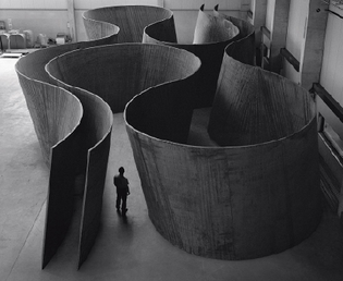Inside Out, 2013, by Richard Serra