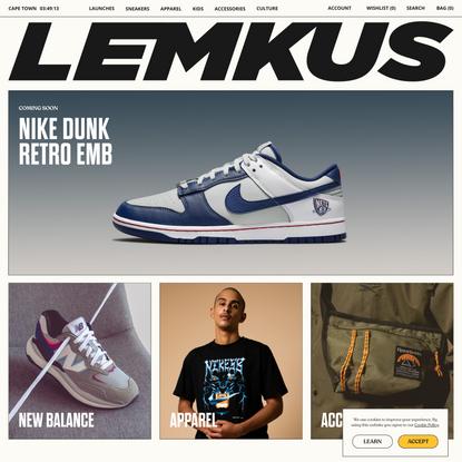 Lemkus | Sneakers & Culture | Lemkus