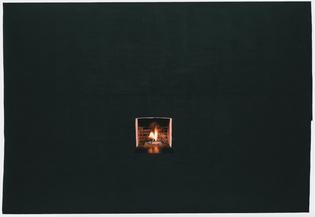 Toba Khedoori, Untitled (black fireplace), 2006