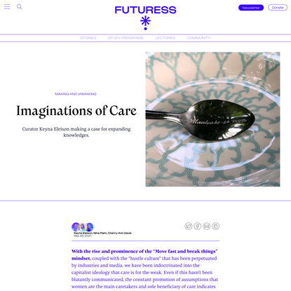 Imaginations of Care
