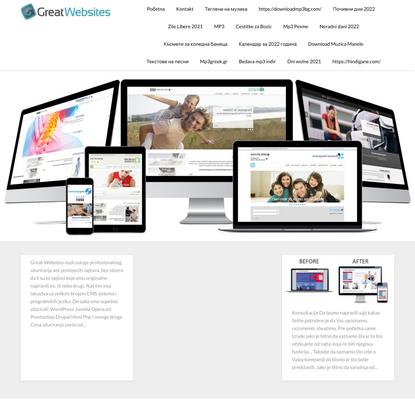 SERBIA GREAT WEBSITES – IZRADA SAJTA, PREZENTACIJE FIRME, IZRADA INTERNET PRODAVNICE