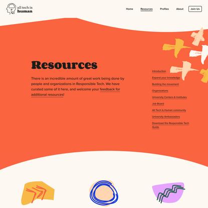 Resources —
