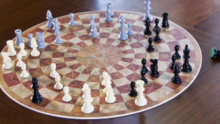 3 Player Chess Board