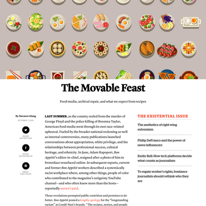 The Movable Feast - Columbia Journalism Review