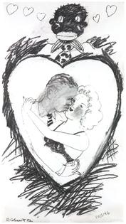 Robert Colescott Passing, 1982