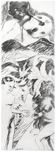 Robert Colescott Untitled (Adam and Eve), 1982