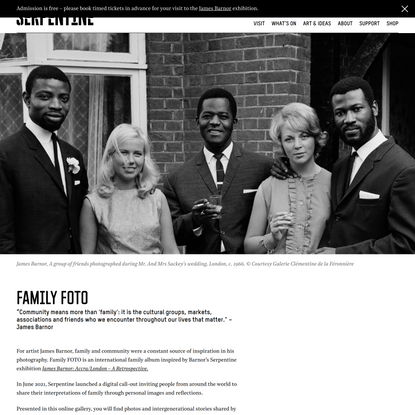 Family Fotos Archive - Serpentine Galleries