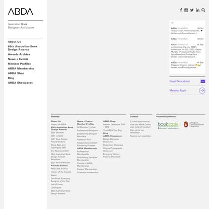 Australian Book Designers Association -