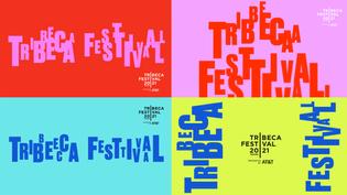 Tribeca Festival (by Pentagram)