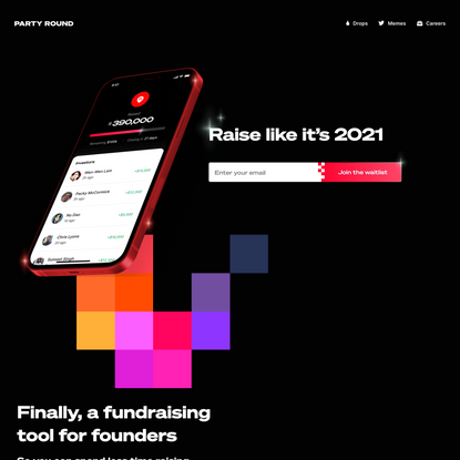 Party Round | An automated fundraising tool for founders