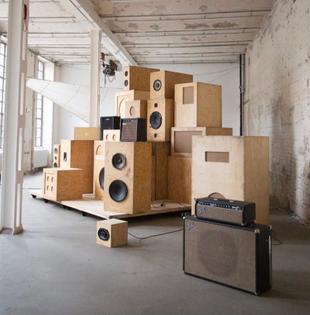 SoundShitSystem, afternow, Nora Chipaumire, Ari Marcopoulos, Kara Walker, constructed by Matt Jackson Studio, Callies, Berlin