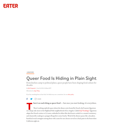 Queer Food Is Hiding in Plain Sight
