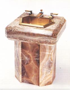 'Apollo' pedestal lavatory (1986)