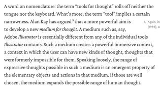 medium vs tool