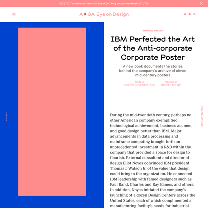 IBM Perfected the Art of the Anti-corporate Corporate Poster