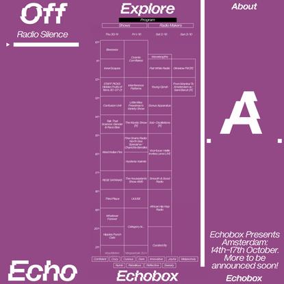 Echobox Radio