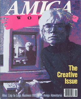 Andy Warhol Amiga World Cover