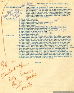 Ernest Hemingway's Wild West Hamburger