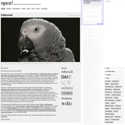 open!   Platform for Art, Culture and the Public Domain
