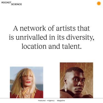 Artists - Rocket Science