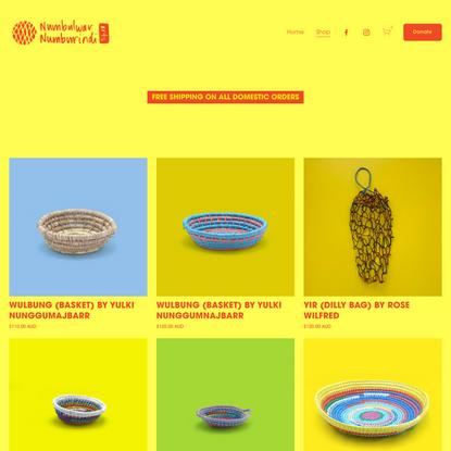 Shop — Numbulwar Numburindi Arts