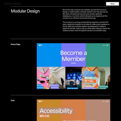 M+ — Design