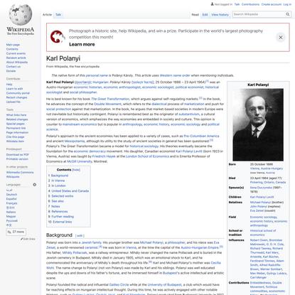 Karl Polanyi - Wikipedia