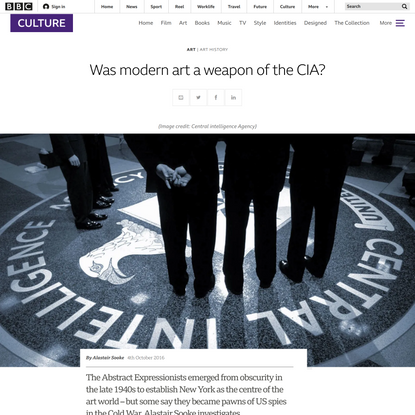Was modern art a weapon of the CIA?