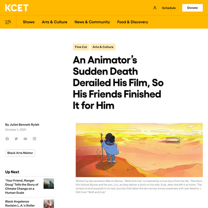 An Animator's Sudden Death Derailed His Film, So His Friends Finished It for Him