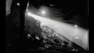 42nd Street movie theater audience, N.Y.C. 1958