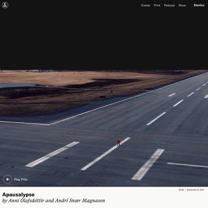 Apausalypse – Emergence Magazine