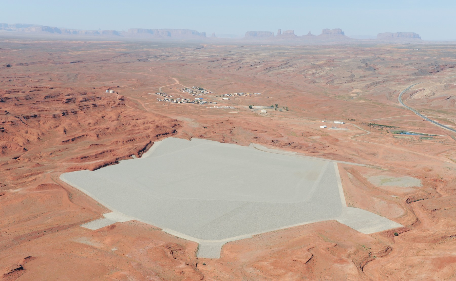 Mexican Hat Uranium Disposal Cell