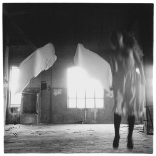 Francesca Woodman, from the Angel series (1977)