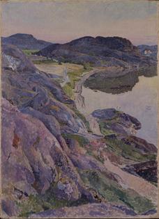 Bögevik Road, 1919   Carl Wilhelm Wilhelmson (Swedish, 1866 - 1928)