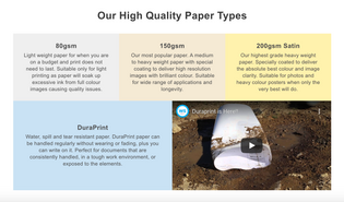 Warehouse Stationary Printing Paper Types