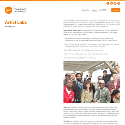 Artist Labs - RPM