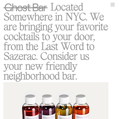 Information — Ghost Bar