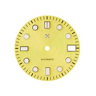 Namoki 80070 Yellow Sakura watch dial