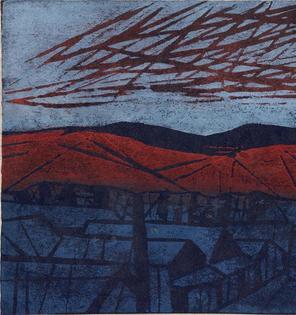 Tadashige Ono  Yama (Mountain),1958