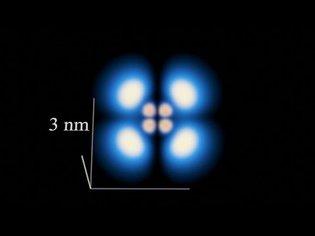 Hydrogen Electron Orbitals in 3D